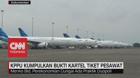 VIDEO: KPPU Kumpulkan Bukti Kartel Tiket Pesawat