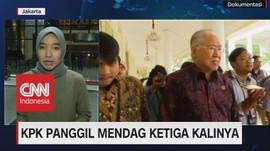 VIDEO: 3 Kali Dipanggil KPK, Mendag Mangkir