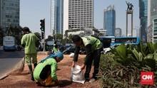 Anies Bandingkan Bambu Getah Getih dan 'Banner' Asian Games