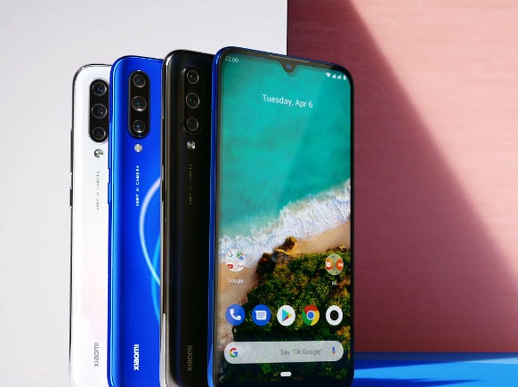 Ini Wujud Mi A3, Ponsel Android One Terbaru Xiaomi