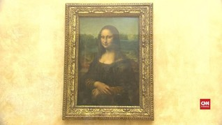 VIDEO: Lukisan Mona Lisa Dipindah dari Museum Louvre Paris