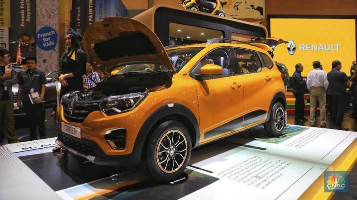 Produsen mobil asal Prancis Renault mengenalkan tipe terbarunya yakni Renault Triber.