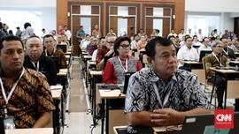 192 Capim KPK Adu Makalah Soal Korupsi di Uji Kompetensi