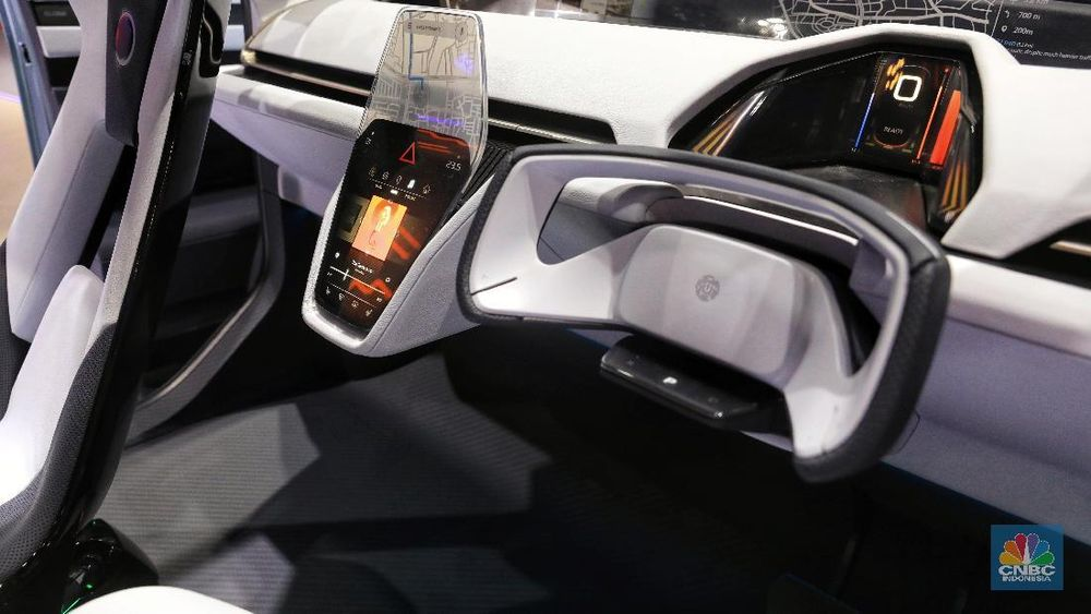 Mobil ini digadang-gadang akan menjadi MPV hybrid murah dari Daihatsu. (CNBC Indonesia/Andrean Kristianto)