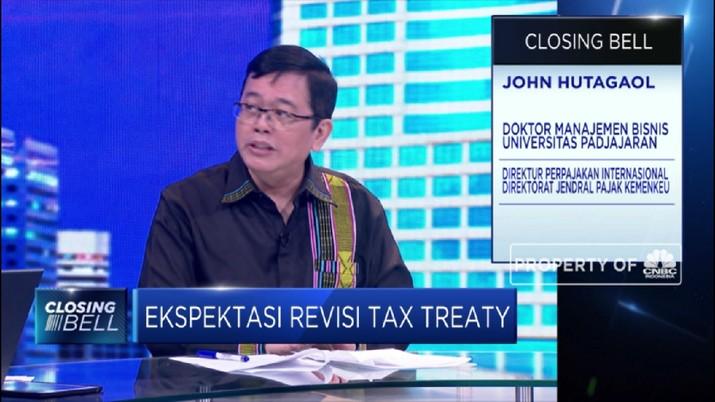Pemerintah akan menegosiasik tax treaty, fasilitas bebas pajak yang diberikan bila membeli surat utang Indonesia dari Singapura.