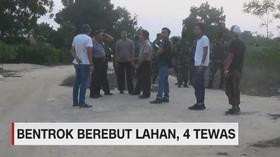 VIDEO: Bentrok 2 Kelompok Warga di Mesuji, 4 Orang Tewas
