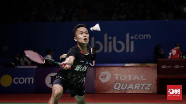 Hong Kong Open 2019: Ginting Kalah, Indonesia Tanpa Gelar