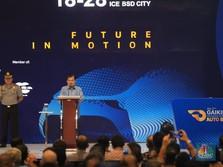 Buka GIIAS 2019, JK: Pemerintah Siap Dukung Mobil Listrik