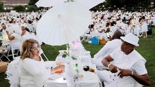 FOTO: Keseruan Pesta Makan Malam Rahasia ala New York