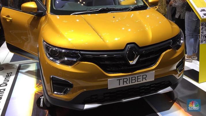 Triber sudah resmi meluncur di Indonesia, kok harganya belum berani dirilis?