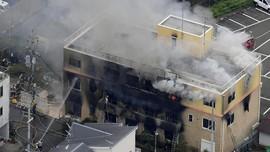 Kebakaran di Studio Animasi Jepang, 13 Orang Diduga Tewas
