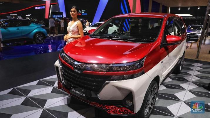 Toyota Avanza 1,3 E STD M/T yan dijual seharga Rp. 188.600.000 (CNBC Indonesia/Andrean Kristianto)