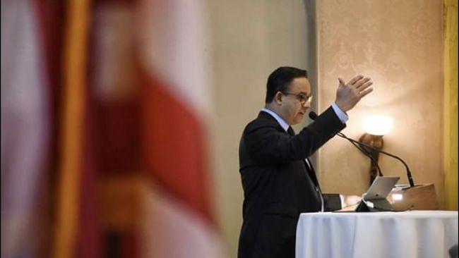 Anies Ajak Warga Jakarta Ikut Arahan Jokowi: Kerja dari Rumah