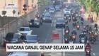 VIDEO: Wacana Ganjil Genap Selama 15 Jam