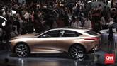 Pameran otomotif Gaikindo Indonesia International Auto Show (GIIAS) 2019 dibuka oleh Wakil Presiden Jusuf Kalla, Kamis (18/7). (CNNIndonesia/Safir Makki)