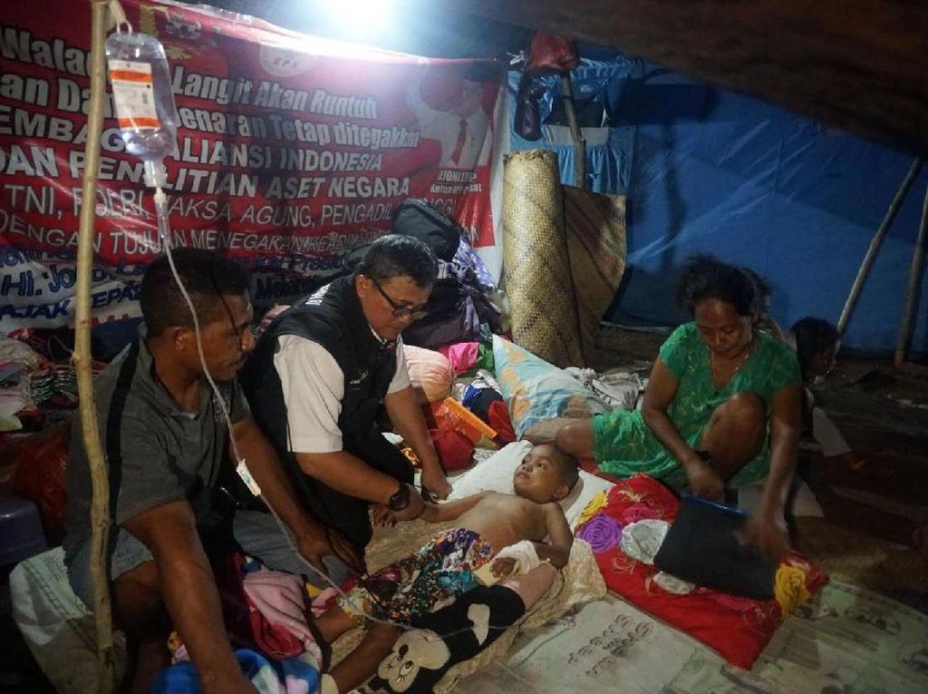 Kemensos Salurkan Santunan untuk Korban Gempa Maluku Utara