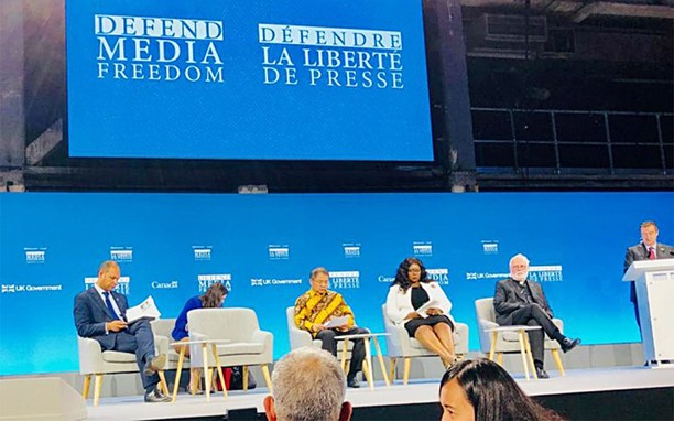 Menkominfo Hadiri Konferensi Global Kebebasan Media