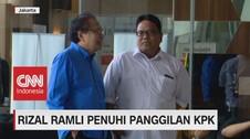 VIDEO: Rizal Ramli Penuhi Panggilan KPK