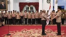 Jokowi: Kontingen Pramuka Duta Bangsa di Jambore Dunia
