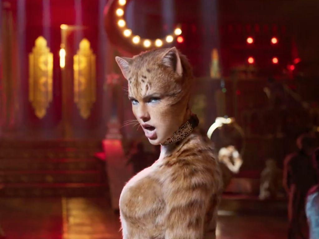 Waduh, Taylor Swift Jadi Kocheng Oren di Cats