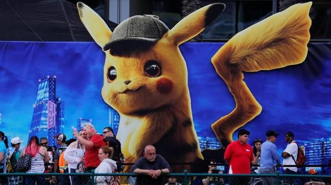 Acara Comic-Con sendiri sebenarnya hanya momen pameran para produsen komik maupun karya seni budaya pop untuk memamerkan produknya kepada publik, terutama dengan penggemar. (REUTERS/Mike Blake)