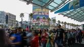 Ajang pencinta komik dan fantasi San Diego Comic-Con tahun ini memasuki penyelenggaraan ke-50. Selama setengah abad, acara ini terus jadi favorit bagi pencinta karakter komik dan film. (REUTERS/Mike Blake)