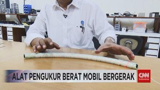 VIDEO: Alat Pengukur Berat Mobil Bergerak