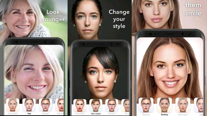 Cara Download FaceApp Pro untuk Hilangkan Watermark di Foto (Screenshot Play Store)