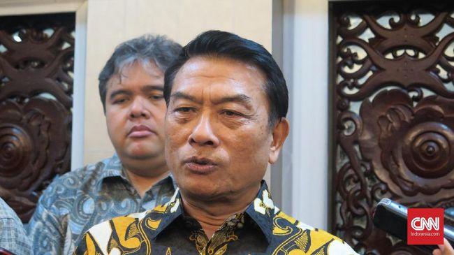 Moeldoko Buka Peluang Koalisi Jokowi-Ma'ruf Jadi Plus-plus