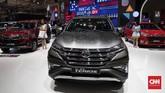 Daihatsu Terios di Gaikindo Indonesia International Auto Show (GIIAS) 2019 berlangsung di ICE BSD, Tangerang, Kamis (18/7). (CNNIndonesia/Safir Makki)