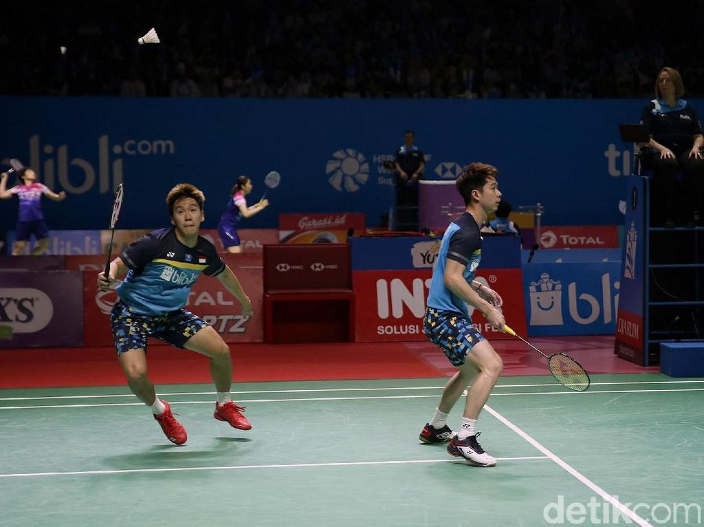 Yes! Kevin/Marcus Tembus Semifinal Indonesia Open 2019