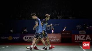 Lolos ke Semifinal, Kevin/Marcus Waspada Postur Tinggi China