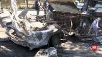 VIDEO: Bom Guncang Universitas Kabul, 8 Nyawa Melayang