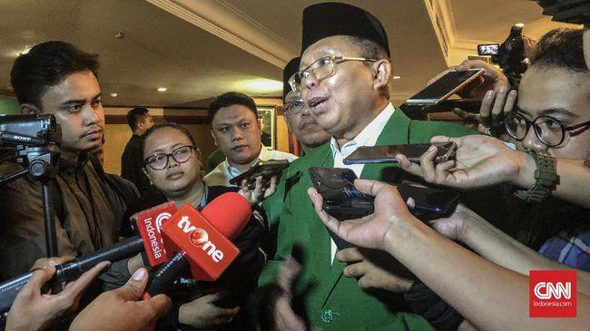 PPP Sebut Jokowi Belum Bahas Posisi Gerindra dengan Koalisi