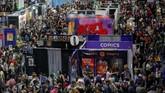 Sejak berdiri, acara ini merupakan acara tahunan yang digelar setiap musim panas di San Diego Convention Center selama empat hari. (REUTERS/Mike Blake)