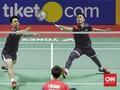 Hasil Hong Kong Open 2019: Ahsan/Hendra Kalah di Final