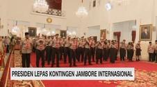 VIDEO: Presiden Lepas Kontingen Jambore Internasional