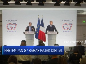 Negara G-7 Buru Pajak Facebook Cs