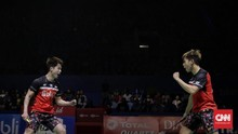FOTO: Ahsan/Hendra dan Kevin/Marcus ke Final Indonesia Open