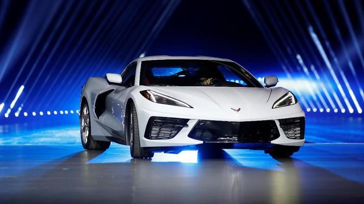 Penampakan Chevrolet Corvette C8, Supercar Rp 835 juta