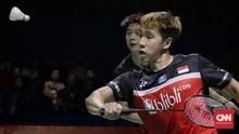 Hasil Final Indonesia Open: Kevin/Marcus Menang Dua Gim