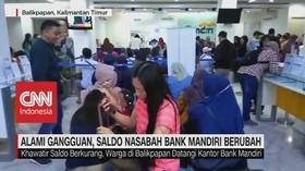 VIDEO: Ramai-Ramai Nasabah Bank Mandiri Cek Saldo