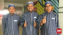Hakim Garis Indonesia Open Pakai Busana Adat Jawa Tengah