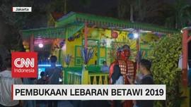 VIDEO: Pembukaan Lebaran Betawi 2019