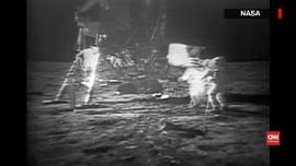 VIDEO: Momen Apollo 11 Mendarat di Bulan, Tepat 50 Tahun Lalu