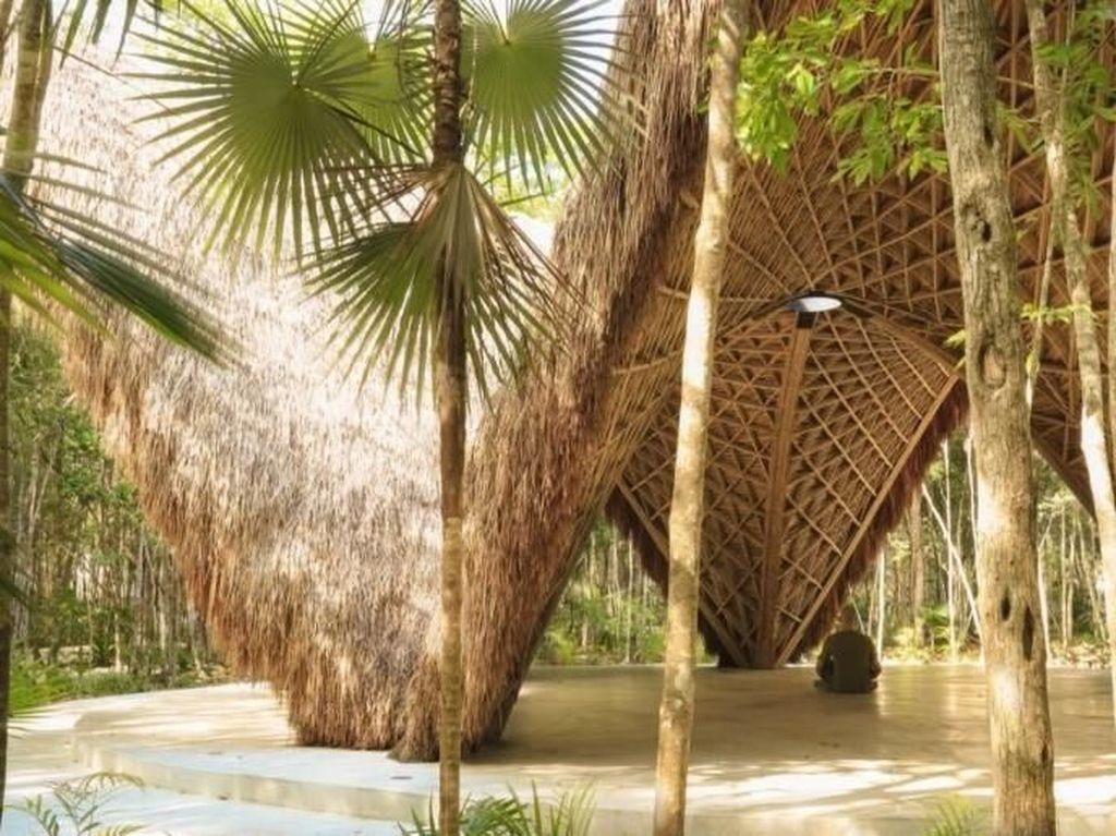 Villa ini dirancang untuk menjadi hunian yang ramah lingkungan. Inhabitat-CO-LAB Design Office.