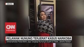 VIDEO: Pelawak Nunung Terjerat Kasus Narkoba