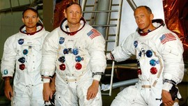 Astronaut Apollo 11 Reuni di Perayaan 50 Tahun Misi ke Bulan
