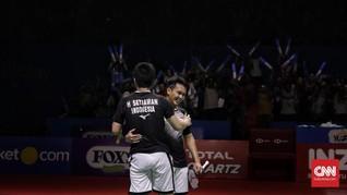 Indonesia Open: All Indonesian Final Hadiah Buat Masyarakat