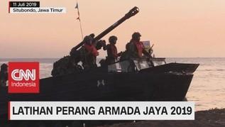 VIDEO: Latihan Perang Armada Jaya 2019